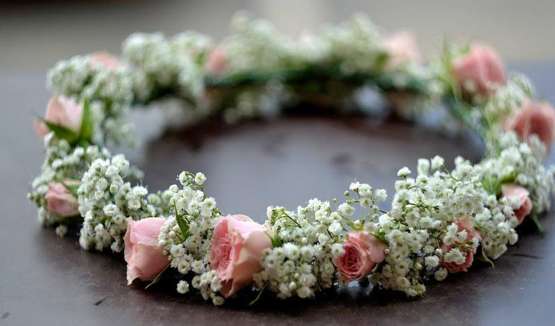 Coronite Bratari Flori Naturale Decoratiuni Nunta Botez